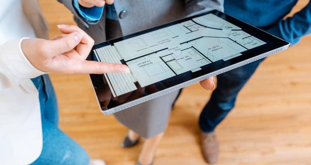 Immobilien- und Grundstücksverkauf