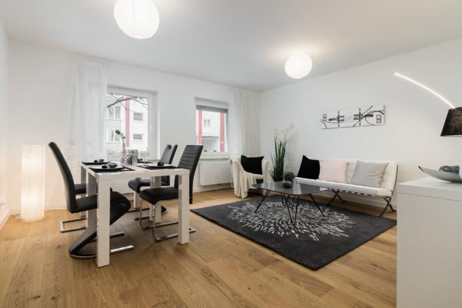 Neu mit Provisionsteilung: Renovierte und bezugsfertige 3-Zimmer Wohnung im Münchener Norden, 80807 München / Milbertshofen, Wohnung