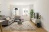 Traumhafte 3-Zimmer Wohnung im Herzen von Schwabing zum Erstbezug nach Renovierung - Wohnzimmer