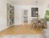 Traumhafte 3-Zimmer Wohnung im Herzen von Schwabing zum Erstbezug nach Renovierung - Essbereich