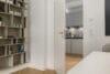 Traumhafte 3-Zimmer Wohnung im Herzen von Schwabing zum Erstbezug nach Renovierung - Zugang Küche / Wohnbereich
