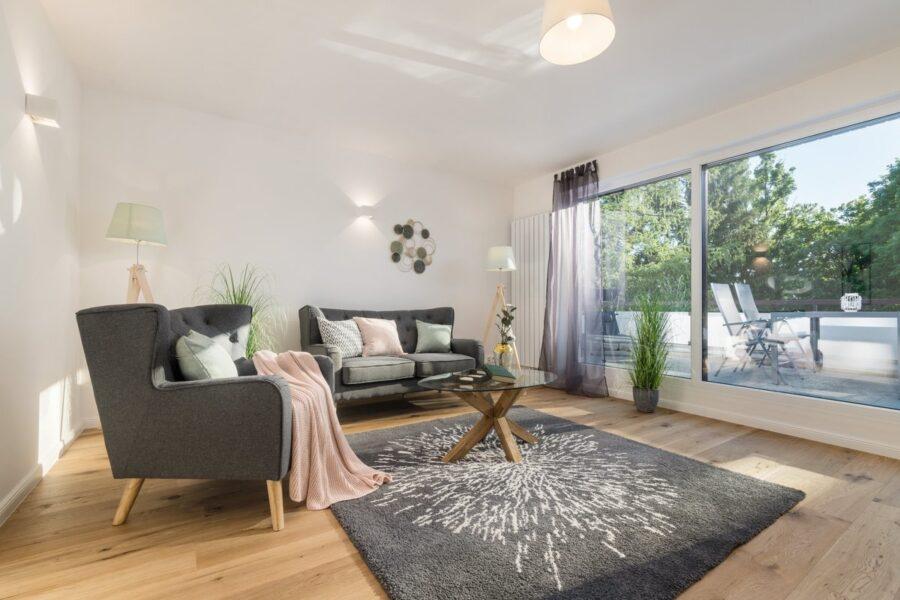 4-Zimmer Wohnung mit Dachterrasse zum Erstbezug nach Renovierung, 81247 München, Wohnung