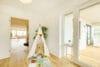 Bezugsfertig und renoviert: 3,5-Zimmerwohnung mit zwei Balkonen in Münchens Top-Lage - Kinderzimmer