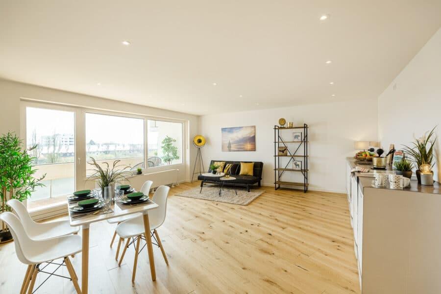 Bezugsfertig und renoviert: 3,5-Zimmerwohnung mit zwei Balkonen in Münchens Top-Lage, 80797 München, Etagenwohnung