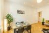 Zum Verlieben! Renovierte 4-Zimmer Altbauwohnung mit Balkon im Glockenbachviertel - Wohnzimmer
