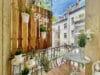 Zum Verlieben! Renovierte 4-Zimmer Altbauwohnung mit Balkon im Glockenbachviertel - Balkon zum Innenhof