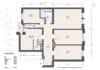 Zum Verlieben! Renovierte 4-Zimmer Altbauwohnung mit Balkon im Glockenbachviertel - Grundriss und Flächen