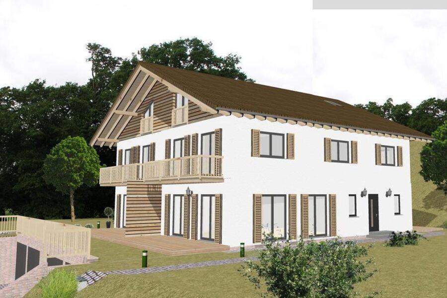 Neubau: Luxuriöse Doppelhaushälfte am Tegernsee, 83707 Bad Wiessee, Haus