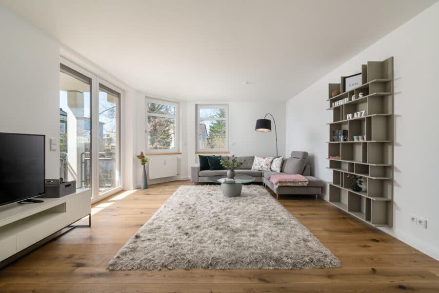 Top renovierte, bezugsfreie 3-Zimmerwohnung mit Südbalkon und guter Anbindung, 81243 München, Etagenwohnung