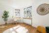 Top renovierte, bezugsfreie 3-Zimmerwohnung mit Südbalkon und guter Anbindung - Kinder- / Arbeitszimmer