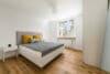 Top renovierte, bezugsfreie 3-Zimmerwohnung mit Südbalkon und guter Anbindung - Schlafzimmer