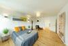 Traumhafte 4-Zimmerwohnung mit Balkon zum Erstbezug nach Renovierung - Zweites Schlafzimmer und Arbeitszimmer