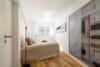 Sonnige und renovierte 2-Zimmer Wohnung mit Südbalkon - Schlafzimmer