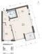 Sonnige und renovierte 2-Zimmer Wohnung mit Südbalkon - Grundriss und Flächen