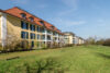 Galeriewohnung mit 4-Zimmern und Terrasse in der Nähe Schloss Nymphenburg - Außenansicht